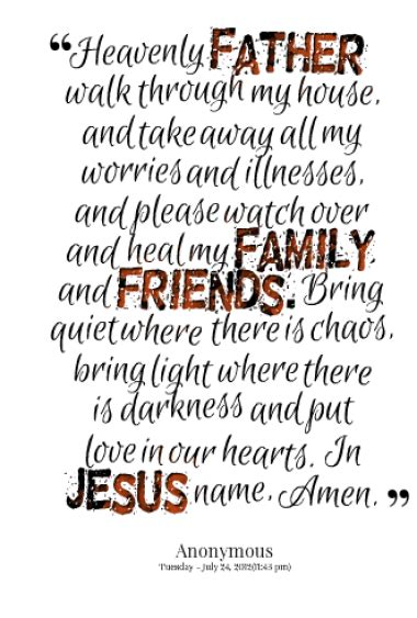 prayer quotes  friends  family quotesgram