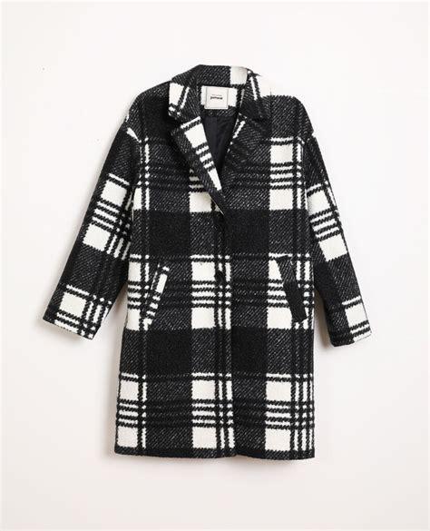 geruite jas zwart   pimkie