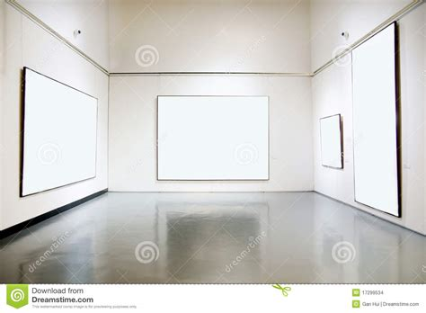 art gallery exhibition hall stock images image