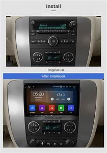 Android 9 0 2007 2008 2009 2010 2011 Gmc Sierra 8 Inch Hd