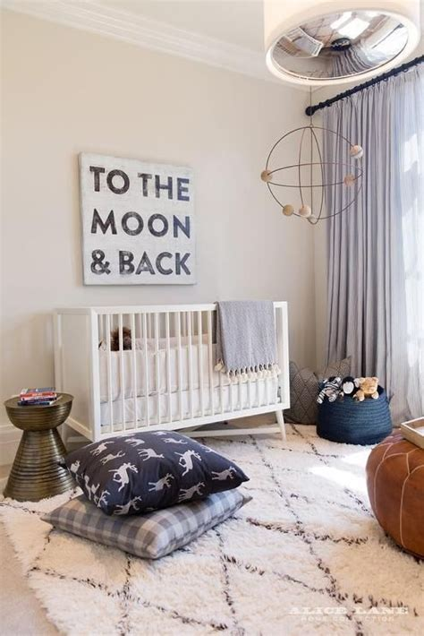 Navy Buffalo Check Curtains by Fabulous White And Blue Boy S Nursery Features A To The