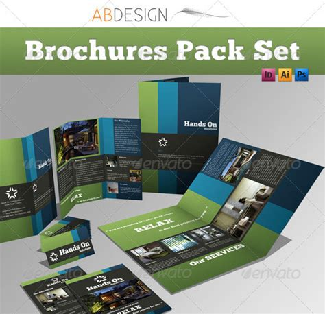 Clipart Trifold Brochure Template A4 Page Size Landscape A4 Folded Flyer Template Clipart Trifold Brochure Page