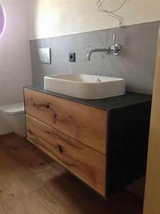 Waschtisch Nach Maß : waschtische nach ma aus massiv holz mit metallverkleidung bad pinterest waschtisch holz ~ Sanjose-hotels-ca.com Haus und Dekorationen