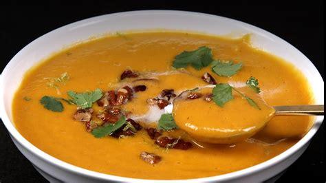 how to make potato soup how to make thai peanut sweet potato soup video myrecipes