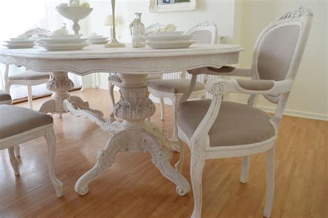 shabby kitchen table summer deal antique shabby chic dining table six