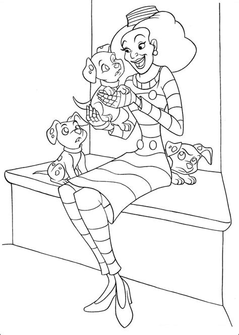 Coloring Pages by Coloring Pages 102 Dalmatians Coloring Pages