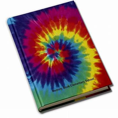 Tie Dye Yearbook Covers Fame Hall