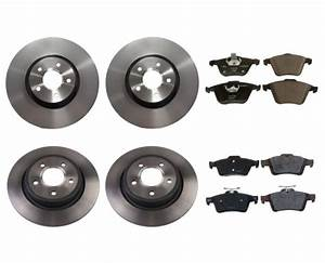 Genuine Front And Rear Brake Kit Rotors And Pads For Volvo