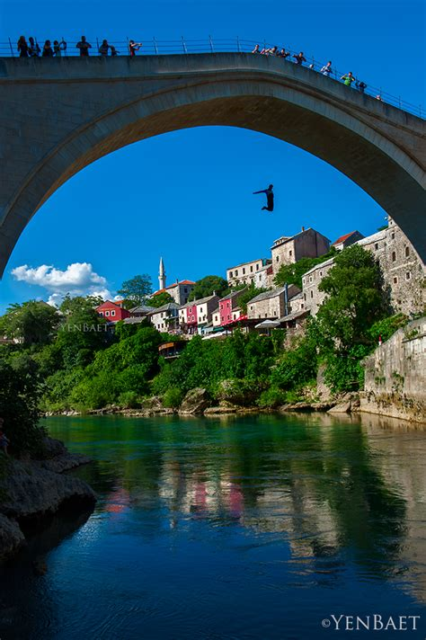 Mostar - Death-Defying Dive from Stari Most to Neretva Riv ...