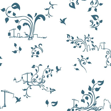 flow city toile wallpaper detail heather barnett