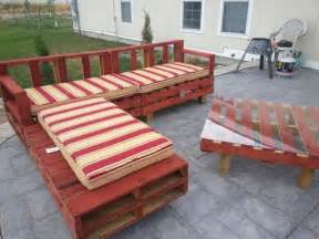 Wooden Pallet Patio Furniture Plans Wood Pallet Patio Furniture Plans Recycled Things