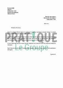 Arreter Assurance Auto : lettre de r siliation assurances du cr dit mutuel ~ Gottalentnigeria.com Avis de Voitures