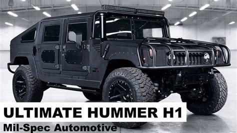 Spec Automotive by Mil Spec Automotive Luxury Hummer H1 Tour Duramax Powered