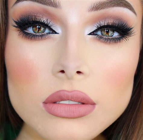 natural glamour wedding makeup eye makeup skin makeup