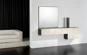 Console Murale Suspendue : am nagement entr e 32 id es de meubles design moderne ~ Teatrodelosmanantiales.com Idées de Décoration