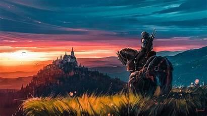 Witcher 4k Geralt Fantasy Gfi