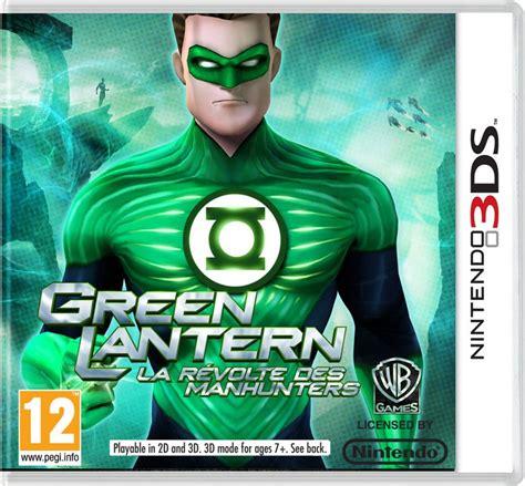 jeu de green lantern la lanterne verte sur 3ds