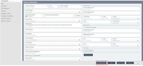 pdgm features system tool help timing admission source modeling