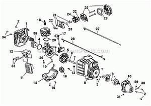 Troy-bilt Tb22ec Parts List And Diagram