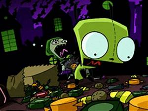 invader zim Gir... Invader Zim Halloween Quotes