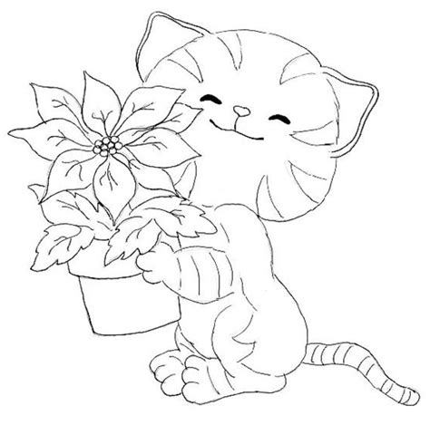 kitten coloring pages  coloring pages  print
