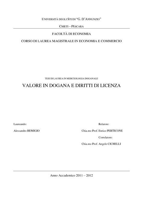diritti di commercio d annunzio chieti pescara facolt 192 di economia corso di