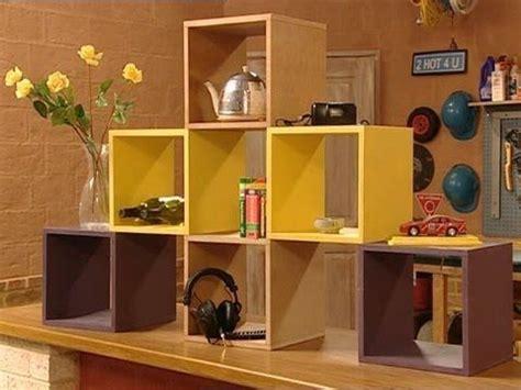 kak da  napravim modulni raftove cube shelves