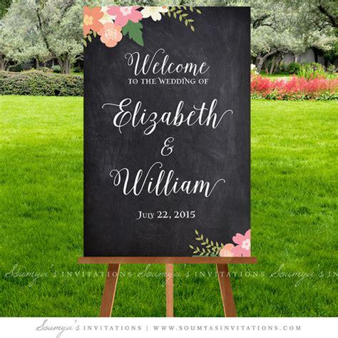 chalkboard wedding signs wedding  sign printable