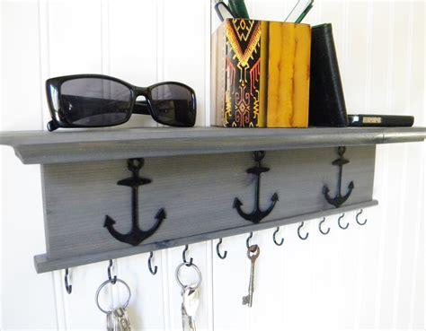 key rack for wall key holder wall shelf rustic wood handmade wall mounted 18