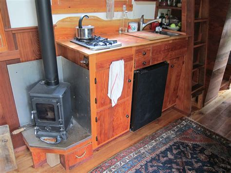 Tiny House From Reclaimed Wood 8 Inch Round Stove Pipe Cap How To Clean New Tops Sopka Inc Wood Coal Burning Cook Stoves Top Stuffing Sizes Franklin Cast Iron Under 5kw Atlanta Model 27