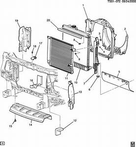Radiator Air Deflector Foam
