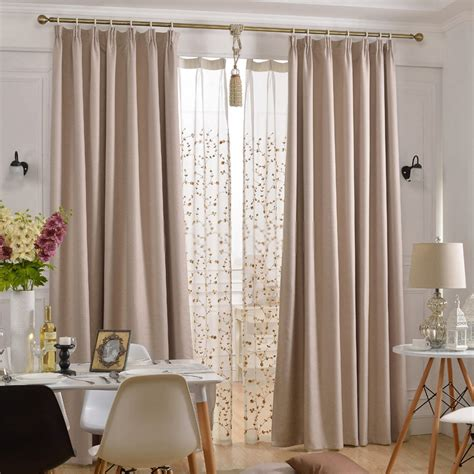 curtain rod for bay window thermal blackout curtains of eco and soundproof