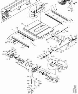 Dwe7480 Dewalt Portable Table Saw Parts