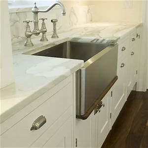stainless steel apron sink design ideas With kitchen colors with white cabinets with brushed nickel wall art