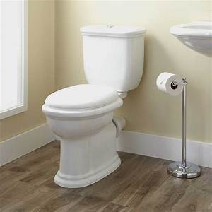 Kennard dual flush european rear outlet toilet two piece for Toilets in european bathroom