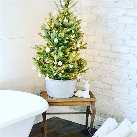 fascinating bathroom decor  christmas makeover