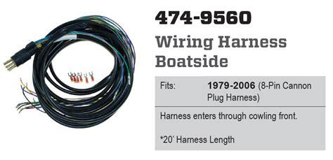 Cdi Electronics Boatside Wiring Harness Cannon
