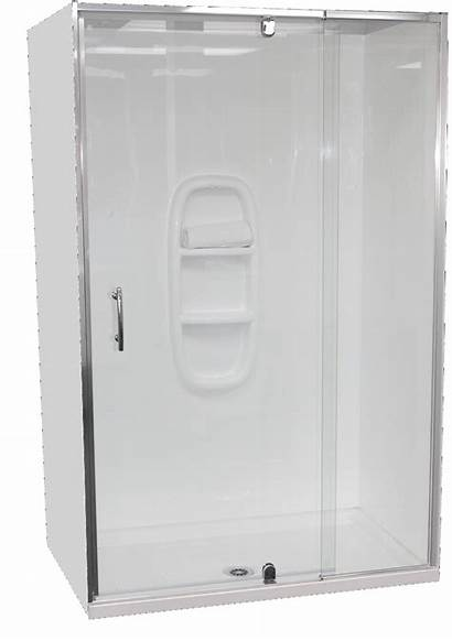 Shower Alcove Cubicle 1200 Sided 760mm Moulded