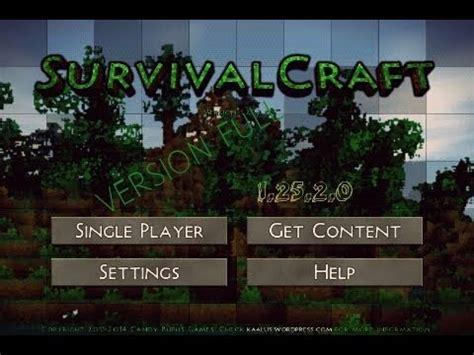 Descargar survivalcraft para android uptodown