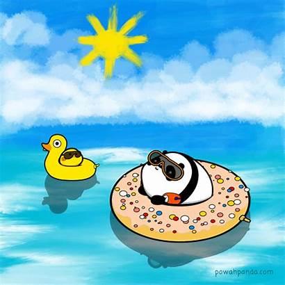Summer Panda Holiday Powah Deviantart