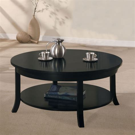 Brass rare wooden coffee table white drive wood top coffee table in black gold pavilion coffee table in glass roma console tables set of 2 in gold attune coffee table in. Acme Furniture Gardena Black Coffee Table - 08000B ...