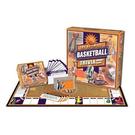 ultimate basketball trivia game basket ball board game