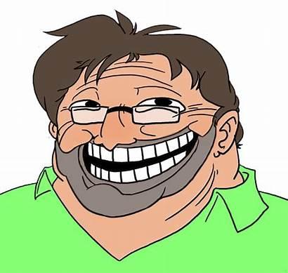 Troll Face Gaben Gabe Newell Beard Meme