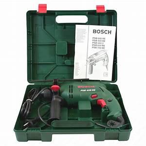 Bosch Akkuschrauber Grün : bosch schlagbohrmaschine psb 650 re bohrmaschine gr n ~ Jslefanu.com Haus und Dekorationen