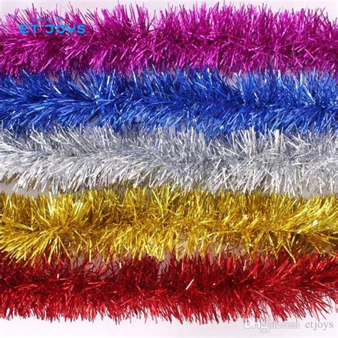 christmas tree tinsel strips party new year christmas