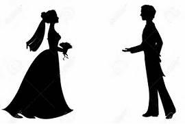 Bride Silhouette Clip ...