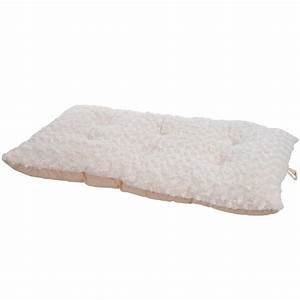 Paw lavish cushion extra large latte pillow furry pet bed for Extra cushion for bed