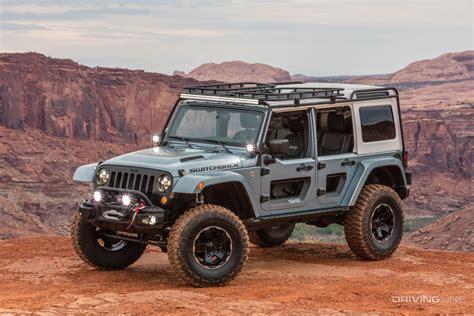 jeep safari concept 2017 jeep concept vehicle ride drive video drivingline