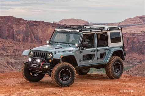 concept jeep 2017 jeep concept vehicle ride drive video drivingline