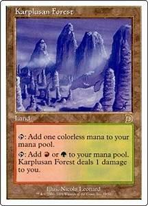 Magic the Gathering Ice Age Single Karplusan Forest ...